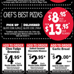 Domino's Pizza - Traditional $8.95 Pick up + More Codes (NSW)