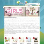 Wall Sticker Decor Clearance Sale Starting from $3 Plus Flat Rate Courier Delivery $9.95