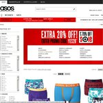 ASOS- Extra 20% off All Sale Items