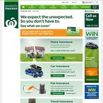 woolworths Insurance Home $100, Car $100, Pet $25, Travel $20, Life $50 WISH Gift Cards.