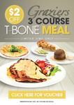 VOUCHER: $2 Off Graziers 3 Course T-Bone Meal for August at 198 Venues in QLD VIC SA NSW TAS NT.