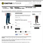 Cactus Outdoor Spring Sale: Supertrousers $145.77 Shipped