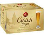 Crown Lager 4x24 $99.75, J Walker Blue Label 700ml $103.13 Delivered + 1000 Bonus QFF Pts @ Woolies