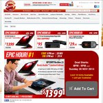 Shopping Express 'epic' Sale Tonight from 8pm AEDT - WDtv $95 Delivered, HP Envy Recline $1399