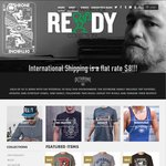 Storewide Discounts of Dethrone Clothing and Access. $8 International Shipping, Free if $100+