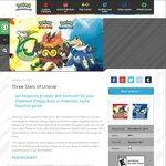 Get Serperior, Emboar, & Samurott Free for Your PokéMon Omega Ruby or PokéMon Alpha Sapphire Game
