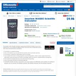 Insystem IN-82SC Scientific Calculator $9.98 @ Officeworks