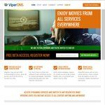 Free DNS Service: Register Now and Get FREE Unlimited BETA Access - ViperDNS