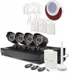 Swann 8 Channel 960H DVR, 4x PRO-735 Cameras, Alarm Sensors & Siren $475 Delivered @InFronttech