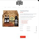 The Beard Pack $75 (Valued at $97) - Oil x2, Balm, Wash & Comb @ Melbourne Beard Oil