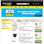 Korjo Travel Adapter Sale: EU/Bali $2.80, UK $2.80, USA $2.80. Double Adapters $4.70 @ Dick Smith