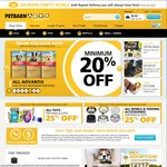 Petbarn 20% off & Free Shipping - Online Only