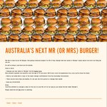 FREE Burgers for Life (if You Change Your Last Name to 'Burger') @ Mr Burger [VIC]