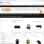 Razer Gaming Peripherals - Mouses + Keyboards + Headsets @ PC Byte eBay