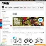 FREE Light Set, Cable Lock & Mini-Pump ($60 Value) with Every Bike Purchase @ Reid Cycles