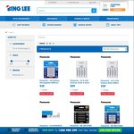 50% off on Eneloops @ Bing Lee e.g: 4xAA or 4xAAA for $12.50/Pack & More