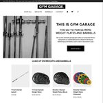 [Brisbane] 15% off Olympic Weight Plates and Barbells. Weights from $2.30 Per Kg - Gymgarage.com.au