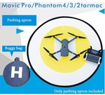 Fast Foldable Fluorescence Landing Pad for DJI Mavic Pro Phantom 3 4 - USD $8.89 (AUD$11.63) Shipped @Lightake