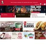 KFC Zinger Burger Combo Deluxe with Free Small Potato & Gravy $6.95 Via App