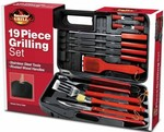 Finelife 19 Piece BBQ Grilling Set $10, Davis & Waddell Bistro 8 Piece Cheese Set $14 @ Harvey Norman Online Or Big Buys Stores