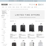 40% off When You Buy a Cabin Size Bag with Any Medium or Large Suitcase @ Myer Online