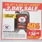 Castrol Edge 5w-30 5L - $34.99, Valvoline Diesel 10L - 15w-40 $36.49, Nulon Coolant 4L - $5.95 @ Supercheap Auto(Selected Dates)