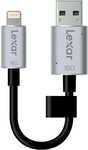 Lexar JumpDrive C20i USB 3.0 Flash Drive for iPhone and iPad 16GB $30 @ BigW