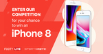 Win an iPhone 8 from Sportsmate Mobile (Except NSW)