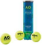 Wilson Australian Open Can of 4 Tennis Balls $7 (Save $5), Spalding NBA Triple Double Basketball $34.99; 1/2 Price @ Rebel Sport