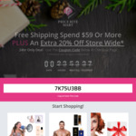 Price Rite Mart-Click Frenzy All Perfume and Hobby Products Extra 20% off and Free Shipping for Order over $59