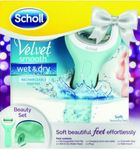 Scholl Velvet Smooth Wet & Dry Gift Pack Rechargeable Cordless Operation Was $89.99 Now $39.99 @ Shaver Shop