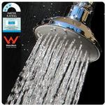 Overhead Shower Head, Quality Chrome & Brass (New) - $19.95 Was $49.95 + Free Delivery @ Water Saving Showers Australia