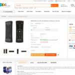 MINIX NEO A2 Lite 2.4g Wireless Air Mouse - US $18.71 (~AU $23.24) Delivered @ DD4