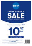 10% off (Family & Friends) @ BIG W (Excludes Apple, Samsung, Consoles, Dyson, Gift Cards, Big W Photo & Movie)