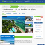 $1500 off Shangri-La Fiji Family Holiday: 6 Nights + Flights + Bonuses + Kids Stay, Play & Eat Free, fr. $1235pp @ Travel Online