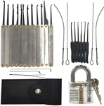 22pcs Lock Pick Sets with 1pc Transparent Practice Padlock US $8.99 (AU $12.32) Delivered w/Code @Tmart