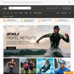 60% off 2XU Selected Compression Gear + $9.95 Shipping or Free When Order over $80 @ Wiggle