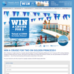 Win a 6N Southern Explorer Cruise Onboard the Golden Princess for 2 Worth $3,500 from Travelrite