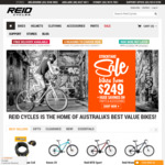 10% off Full Priced Items at Reid Cycles Online and Instore