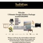 Win a Designer Homeware/Watch Package Worth Over $35,000 from Indesign Publishing Pty Ltd