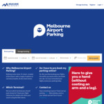 [VIC] $5 off Online Parking Booking with Coupon @ Melbourne Airport