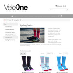 Cycling Socks $5 a Pair (Was $25) + $10 Postage @ VeloOne