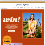 Win a Princess Highway Outfit & Frankie Magazine Subscription Worth $294 from Princess Highway/Frankie Magazine