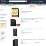 WD 3TB Portable $100, SanDisk 128GB/200GB MicroSD $31/$46, SanDisk 128GB USB $31, Seagate 4TB Portable $125 + More @ Amazon AU