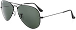 Win a Pair of Ray-Ban Aviator RB3025-L2823-5 Black Sunglasses from Female.com.au