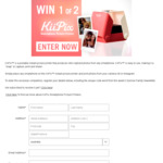 Win 1 of 2  KiiPix Smartphone Picture Printers Worth $39.99 from Seven Network