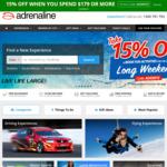 Adrenaline 15% off ($179 Minimum Spend)