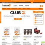 Amino Z - Supplements - Spend $150+ Get $30 Voucher. Spend $250+ Get $60 Voucher. Spend $400+ Get $100 Voucher