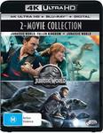 Jurassic World/Jurassic World - Fallen Kingdom (4K Ultra HD) $25.64 + Delivery (Free with Prime/ $49 Spend) @ Amazon AU