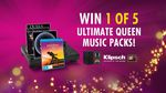Win 1 of 5 Queen Music Packs incl Klipsch Monitors & Audio-Technica Turntable Worth $2,345 from Nine Network